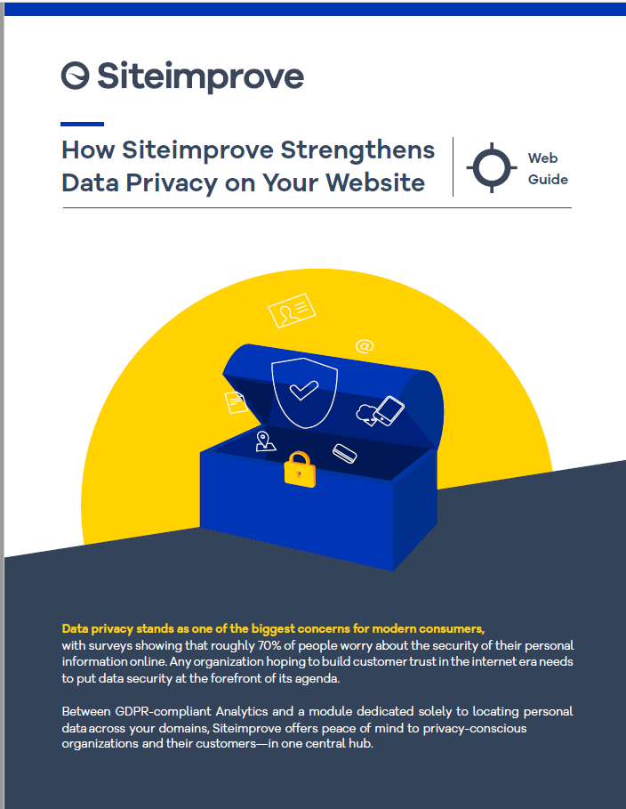 Siteimprove Privacy 1